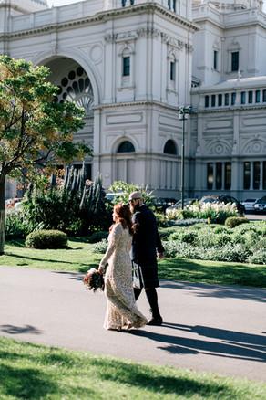 Daniela & Jez - State Library, Melbourne Wedding.