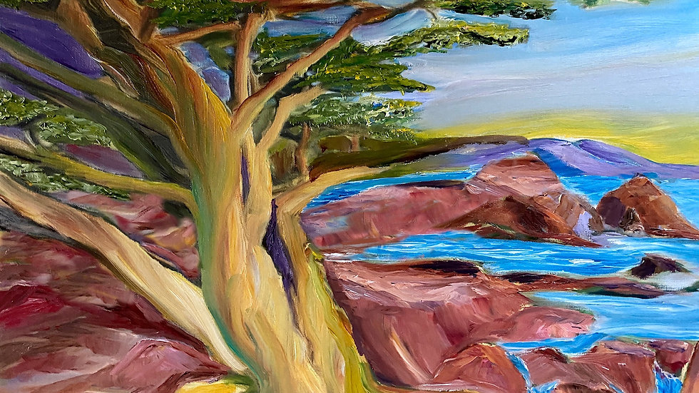Point Lobos   Matted Print