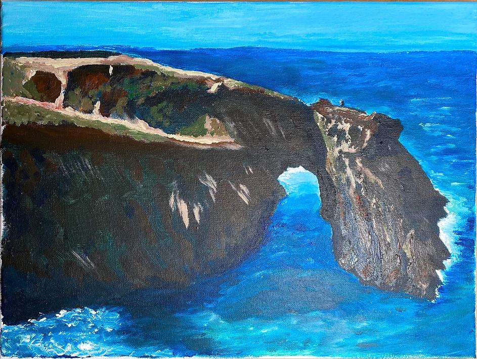 Mendocino Headland Arch