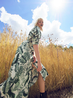 Model: Aloyna Ivanova  Styling: Yolanda N