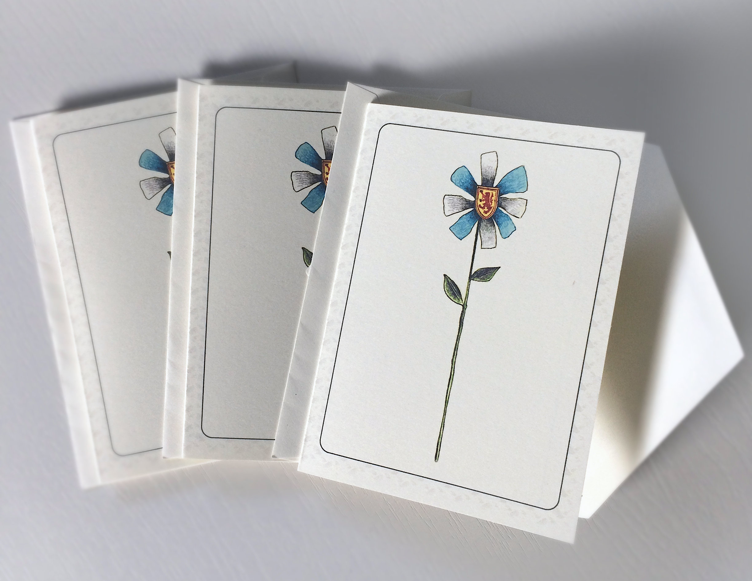 Ns Flower Card 3rd Edition 3 Pack