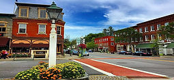 Woodstock VT downtown