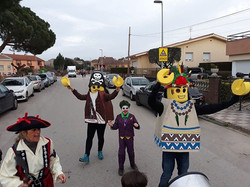 Carnaval a Quart! 👻🤖👺😈💃🤪😜🤡🤠
