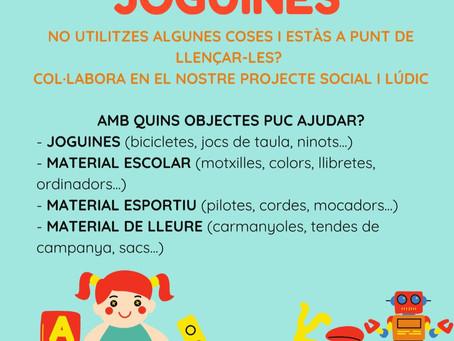 RECOLLIDA DE JOGUINES
