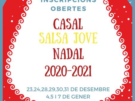 INSCRIPCIONS OBERTES CASAL DE NADAL 20-21
