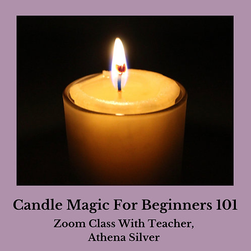 Candle Magic For Beginners Zoom Class