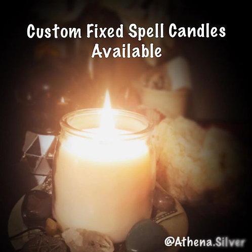 Custom Fixed Spell Candle