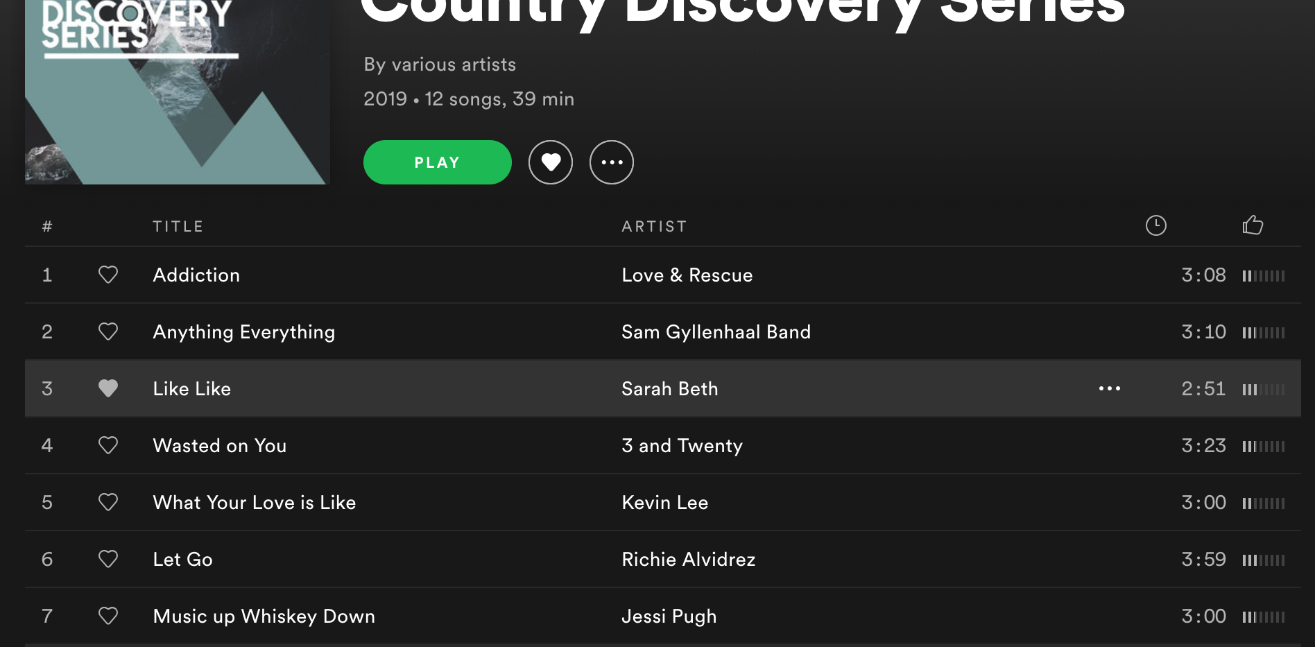 """Check out """"Like Like"""" on the Country Discovery Series by Silverado Records!"""
