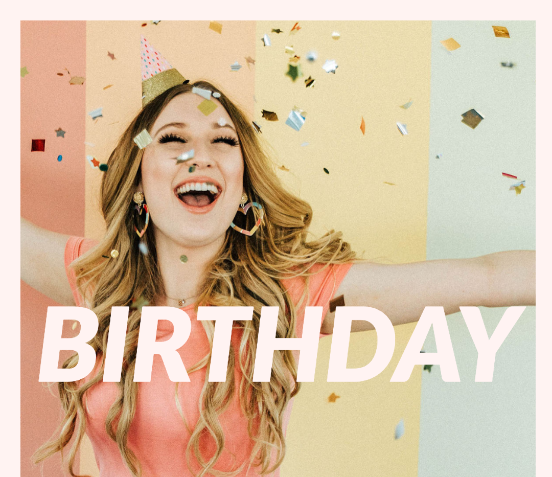 """Check out my new single """"Birthday"""" now!"""