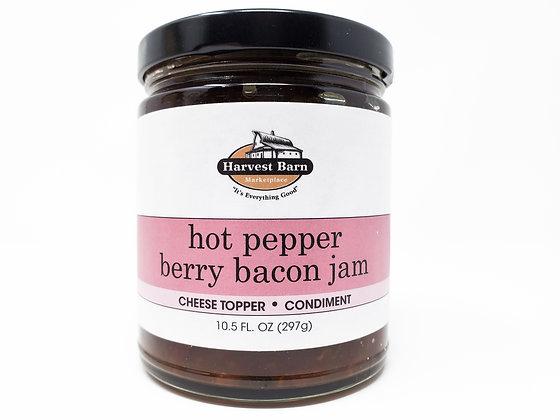 Hot Pepper Berry Bacon Jam
