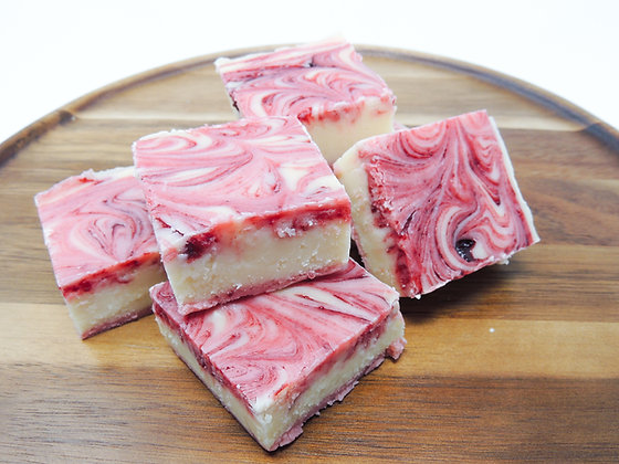 Raspberry Vanilla Fudge
