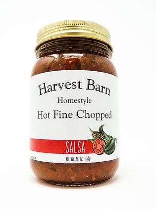 Hot Fine Chopped Salsa