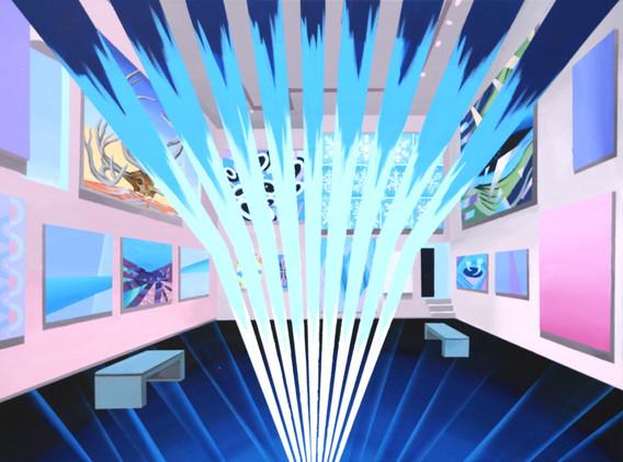 Underwater exhibition