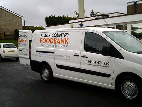 Harvest Donations for Black Country Food Bank