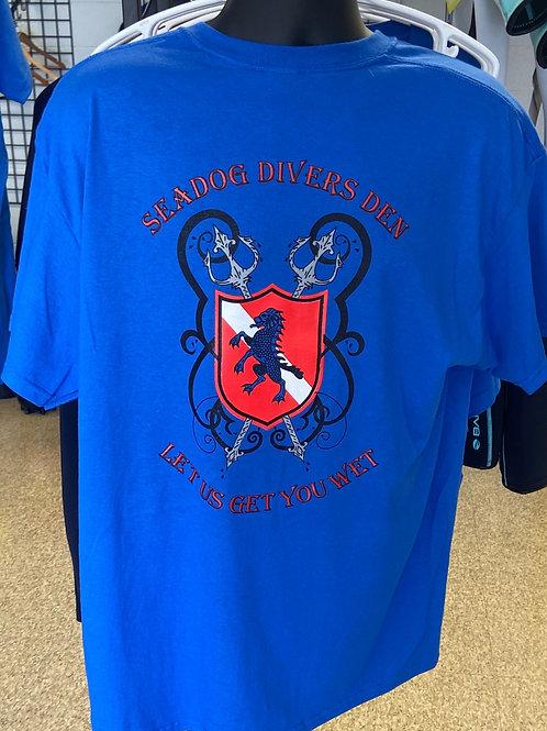 Seadog Divers Den, t-shirts