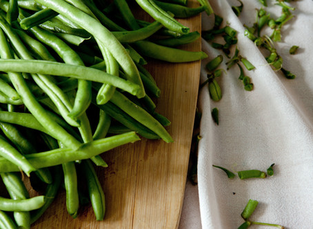 Green beans are never boring!