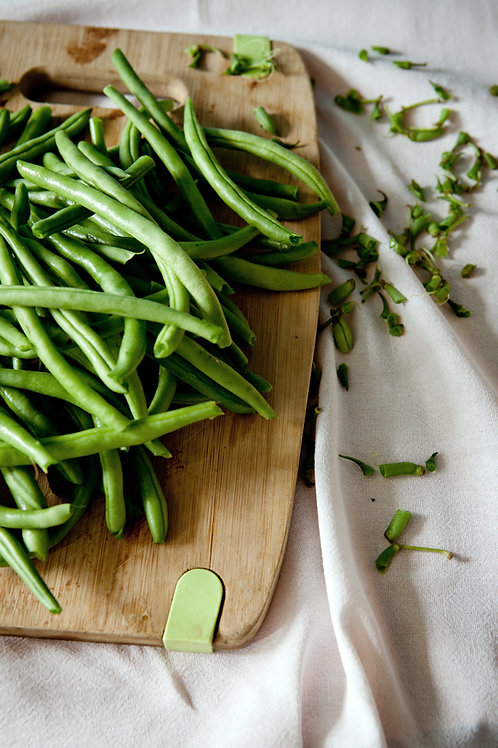 Green Beans with Lemon Miso