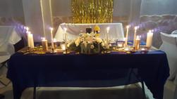 Buffet dînatoire de baptême