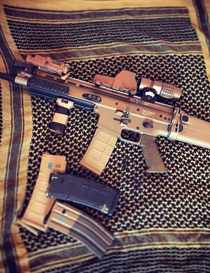 B-40's new shooter. TM NGR mk.16 mod 0.j