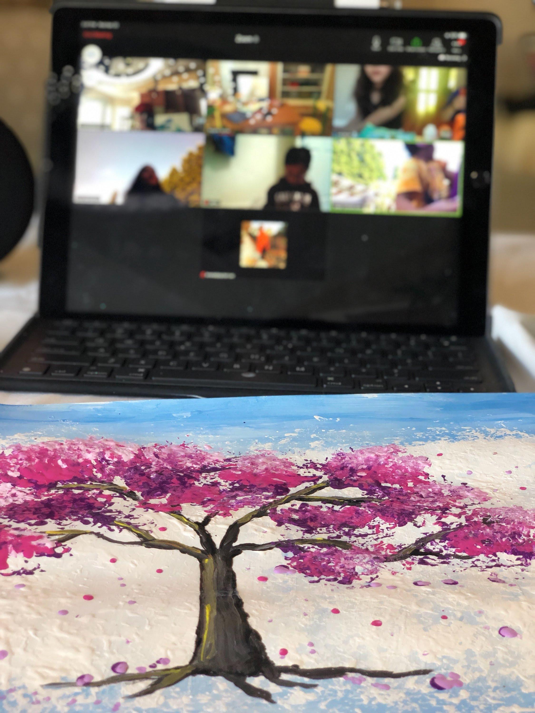 Spring/ Summer  Online Group Art Classes