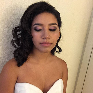 Hair n makeup done quince ready #gorgeou