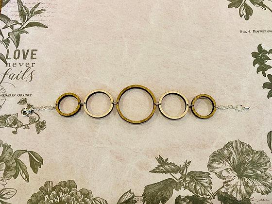 Wood Link Bracelet