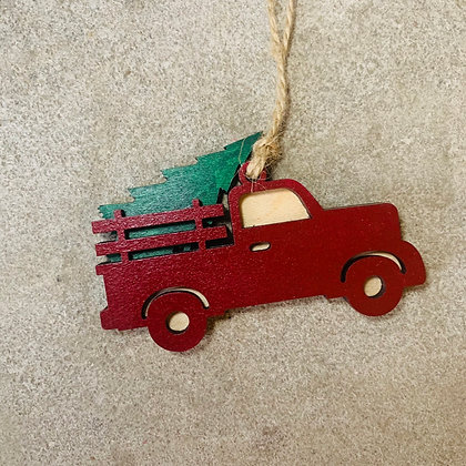 Holiday Pickup Ornament