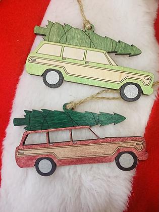 Wagon Ornament