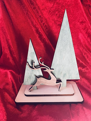 Table Top Deer Ornament