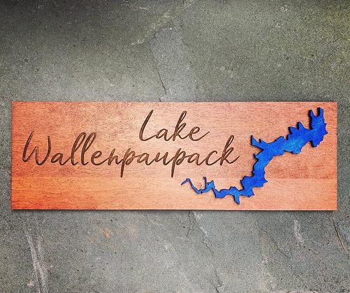 Lake Wallenpaupack Rectangular Sign