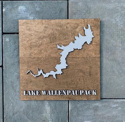 Lake Wallenpaupack Square Sign