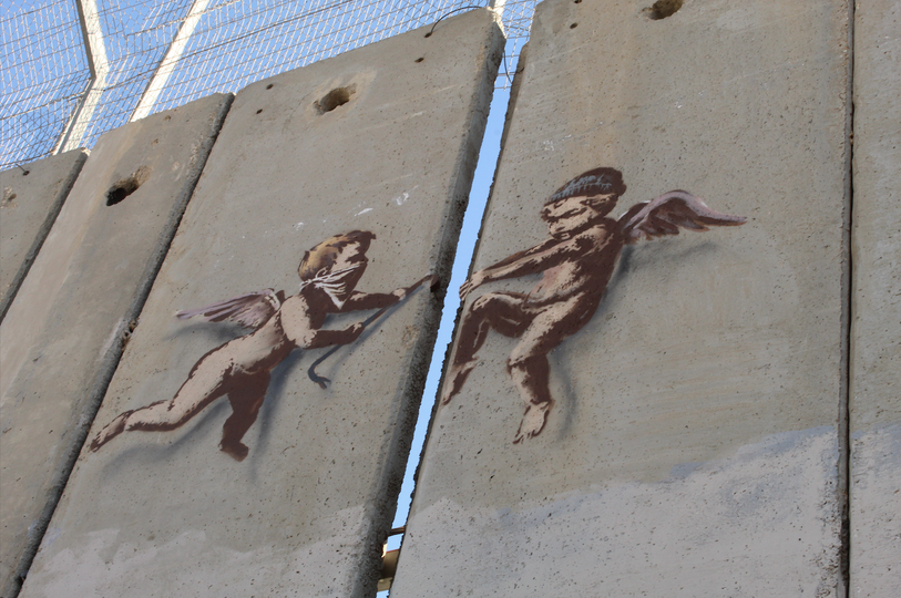 Angels in the West Bank