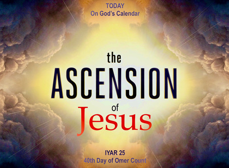 Today on God's Calendar: The Ascension of Jesus