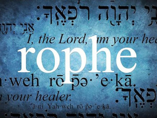 """I AM the Lord your Healer""  especially in IYAR"