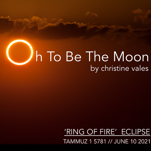 """*FREE*  digital download  """"Oh To Be The Moon"""" by Christine Vales"""