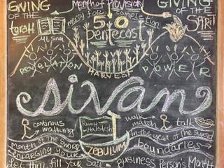 SIVAN chalkboard kodesh