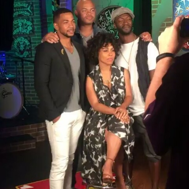 The Cast of 'Underground'