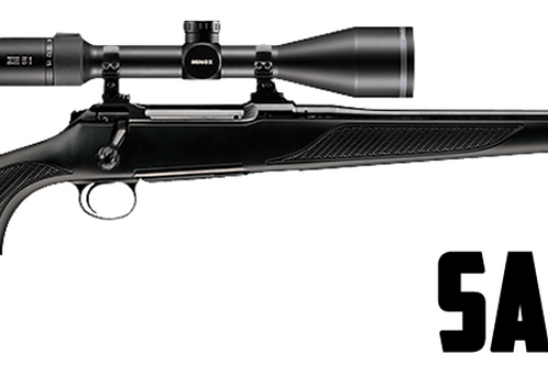 SAUER S101 FOREST XT inc scope