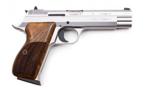 Sig Sauer P210 Target Silver