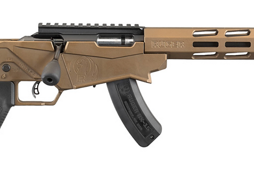 RUGER Precision rimfire bolt action bronze