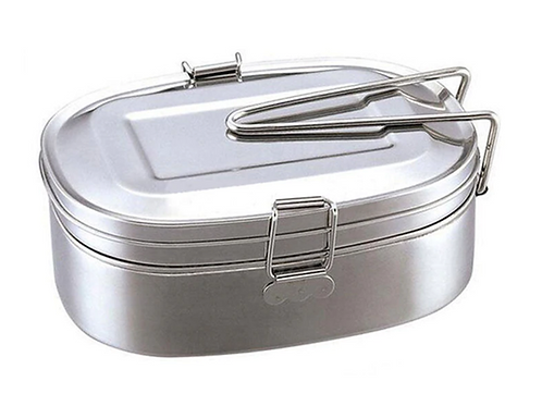 Double-layer Stainless Steel Lunch Box