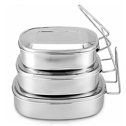 Stainless Steel Eco Lunch Box - Medium
