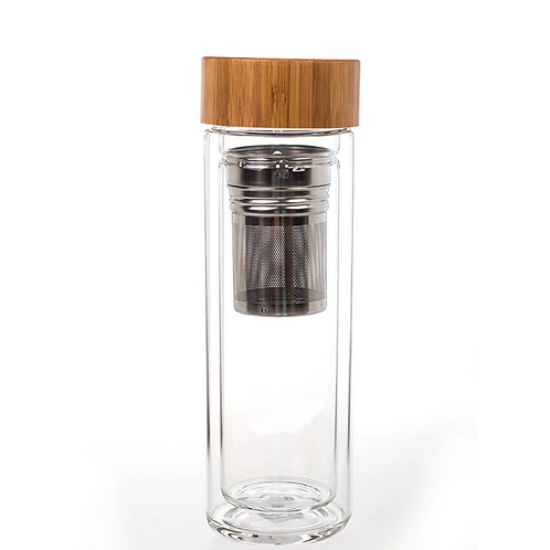 Glass & Stainless Steel Infuser