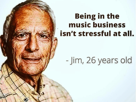 Being successful in the music business
