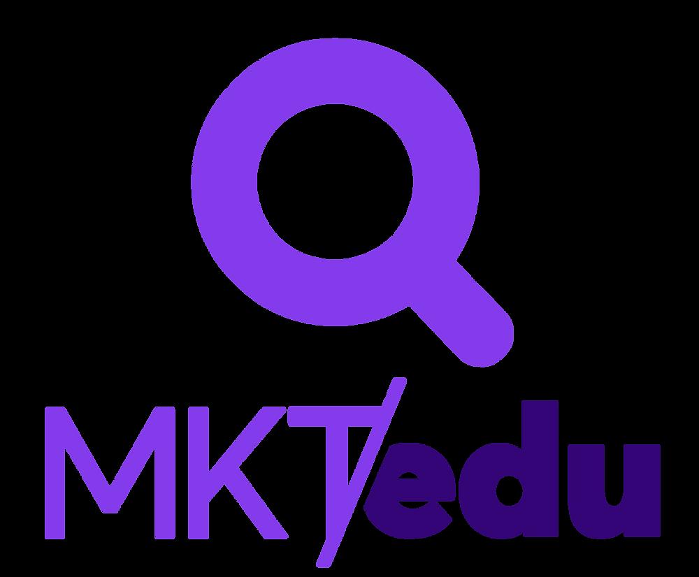 Logotipo a color de Mercadotecnia Educativa (MKTedu)