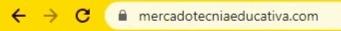 Ejemplo de sitio web seguro con certificado de seguridad SSL, en el cual aparece un ícono de un candado. #MKTedu #MercadotecniaEducativa #MarketingEducativo