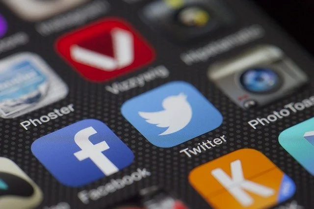 Apps de distintas redes sociales