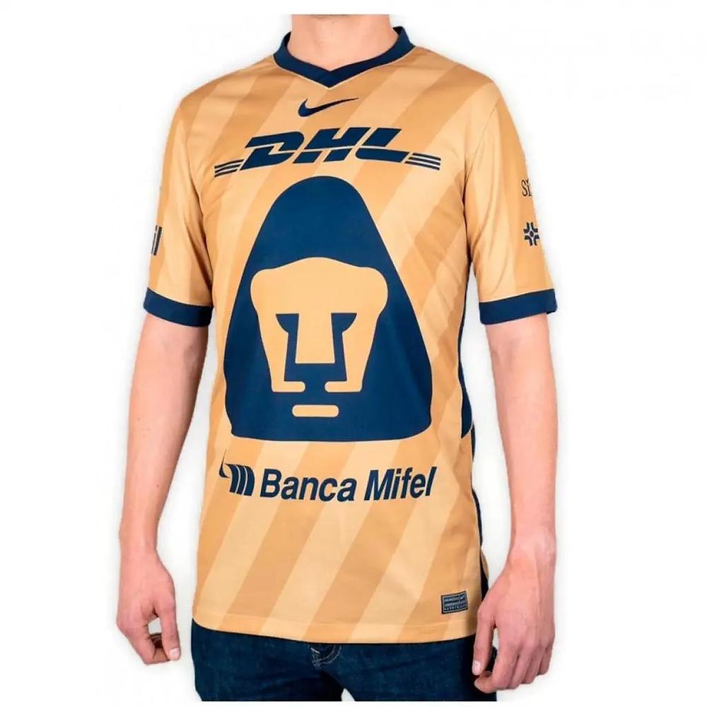 Jersey del equipo Pumas de la UNAM. Fuente: https://tiendapumas.com/collections/jerseys/products/jersey-nike-pumas-tercero-2021-hombre