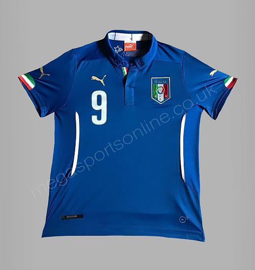 PUMA Italy Home Shirt ( Balotelli 9 )