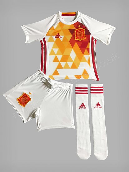 Adidas Spain Away Euro Kit